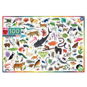 Beautiful World 100 Piece Jigsaw Puzzle - eeBoo