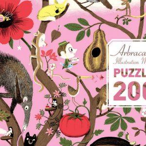 Arbracadabra 200 Piece Jigsaw Puzzle - Djeco