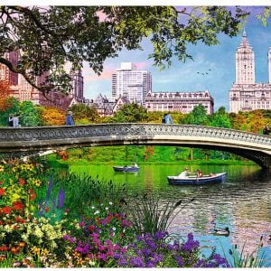Central Park New York 1000 Piece Jigsaw Puzzle - Trefl