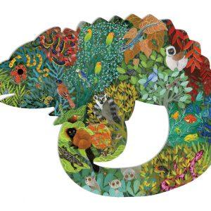 Chameleon Puzzle art 150 Piece - Djeco