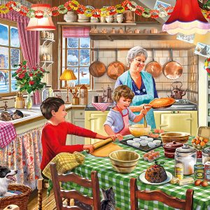 Christmas Treats 500 XL Piece Jigsaw Puzzle - Gibsons