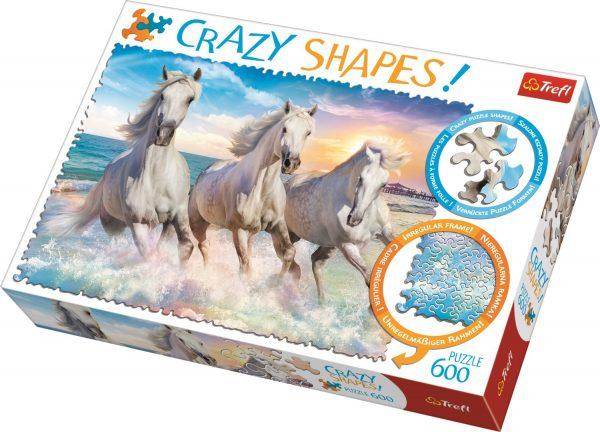 Crazy Shapes 600 Piece Jigsaw Puzzle - Trefl