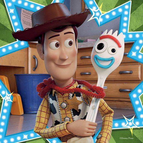 Disney Pixar Toy Story 4 - 3 x 49 Piece Jigsaw Puzzle - Ravensburger