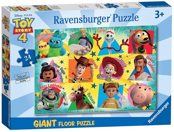 Disney Toy Story 4 - 24 Piece Giant Floor Puzzle - Ravensburger