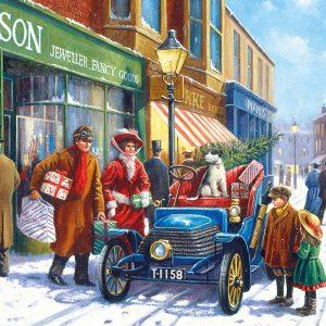 Family Christmas Shop 100XXL Piece Jigsaw Puzzle - Gibsons