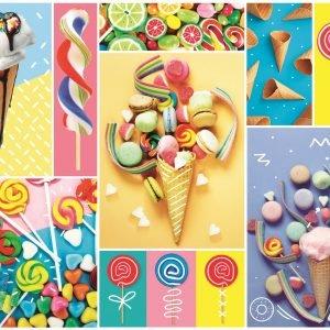 Favourite Sweets 500 Piece Jigsaw Puzzle - Trefl