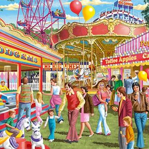 Fun at the Fair 500 XL Piece Jigsaw Puzzle - Jumbo