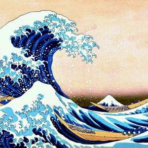 Hokusai Katsushika - the Great Wave of Kanagawa 1000 Piece Jigsaw Puzzle - Trefl