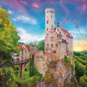 Lichtenstein Castle, Germany 1000 Piece Jigsaw Puzzle - Trefl