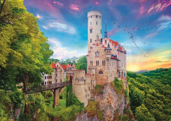 Lichtenstein Castle, Germany 1000 Piece Jigsaw Puzzle - Trefl