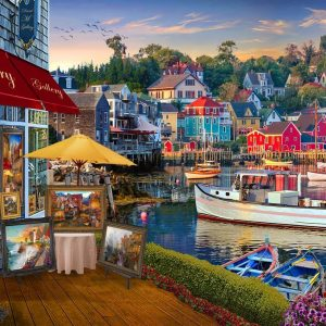 Of Land and Sea II - A Harbour Gallery 1000 Piece Jigsaw Puzzle - Holdson