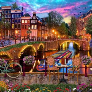 Of Land and See II - Holland Bridges 1000 Piece Jigsaw Puzzle - Holdson