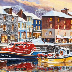 Padstow in Winter 636 Piece Jigsaw Puzzle - Gibsons