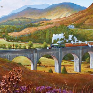 Panorama - Glenfinnan Viaduct 636 Piece Jigsaw Puzzle - Gibsons