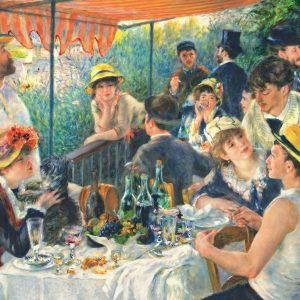 Renoir - Luncheon of the Boating Party 1000 Piece Jigsaw Puzzle - Trefl