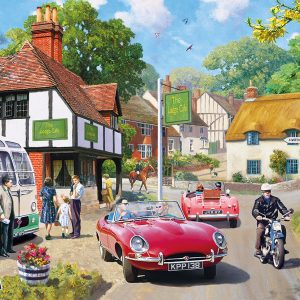 Roadside Refreshment 2000 Piece Jigsaw Puzzle - Gibsons