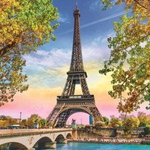 Romantic Paris 500 Piece Jigsaw Puzzle - Trefl
