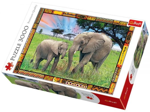 Savannah 3000 Piece Jigsaw Puzzle - Trefl