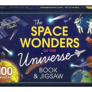 Space Wonders of the Univers Book & 100 Piece Jigsaw Puzzle