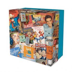 Spirit of the 50s Gift Box - 500 Piece Jigsaw Puzzle - Gibsons