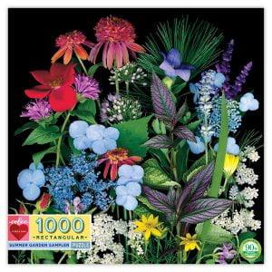 Summer Garden 1000 Piece Jigsaw Puzzle - eeBoo