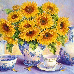 Sunflowers 500 Piece Jigsaw Puzzle - Trefl