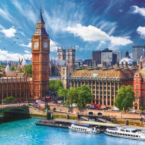 Sunny Day, London 500 Piece Jigsaw Puzzle - Trefl
