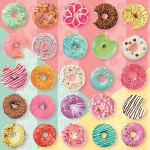 Sweet Donuts 500 Piece Jigsaw Puzzle - Trefl