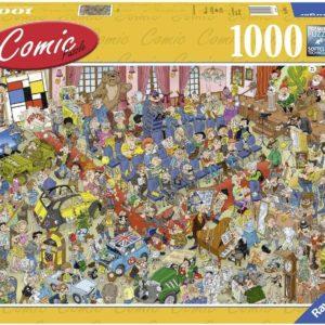 The Auction (De Veiling) 1000 Piece Puzzle - Ravensburger