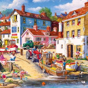The Four Bells 2000 Piece Jigsaw Puzzle - Gibsons