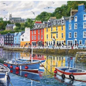 Tobermory 1000 Piece Jigsaw Puzzle - Gibsons