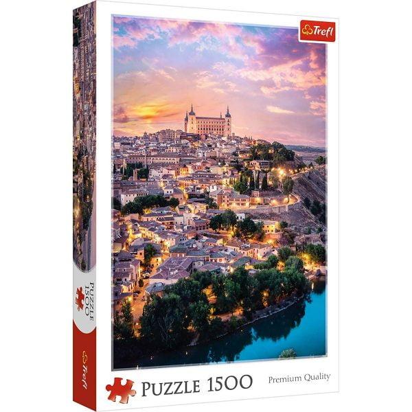 Toledo, Spain 1500 Piece Jigsaw Puzzle - Trefl
