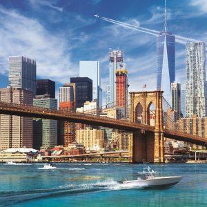 View of New York 500 Piece Jigsaw Puzzle - Trefl