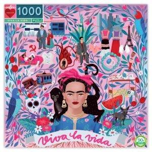 Viva La Vida 1000 Piece Jigsaw Puzzle - Eeboo