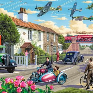 Wartime Morning 1000 Piece Jigsaw Puzzle - Falcon de luxe