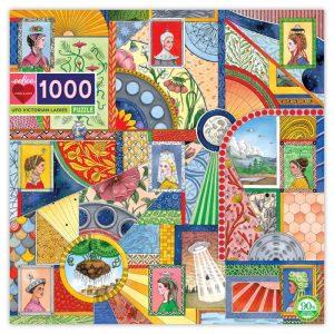 UFO Victorian Ladies 1000 Piece Jigsaw Puzzle - eeBoo