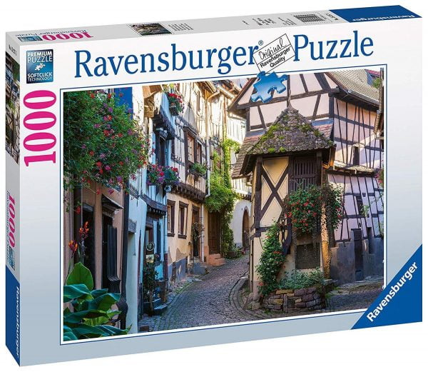 French Moments in Alsace 1000 Piece Jigsaw Puzzle - Ravensburger