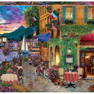 Italian Fascino 2000 Piece Jigsaw Puzzle - Educa