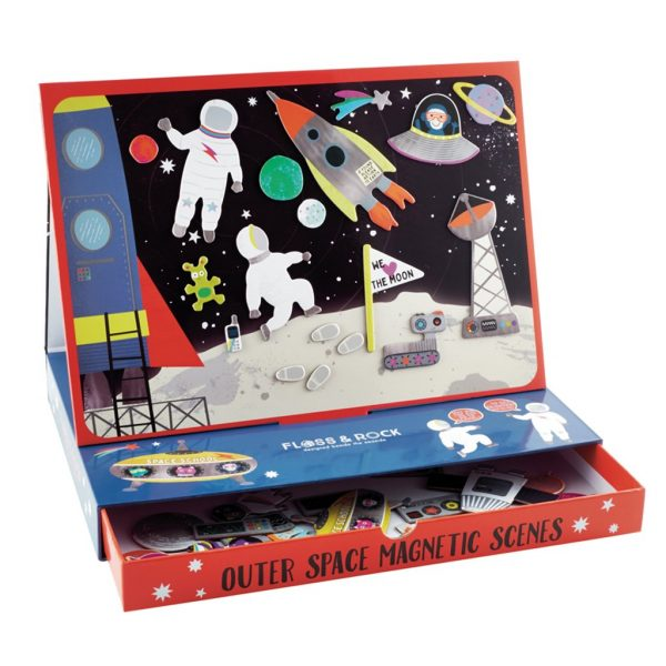 Magnetic Play Scene Outer Space - Floss & Rock