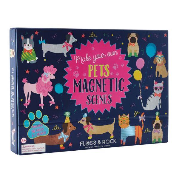 Magnetic Play Scene Pets - Floss & Rock
