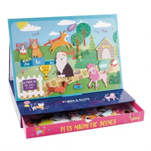 Magnetic Play Scene Pets - Floss & Rock