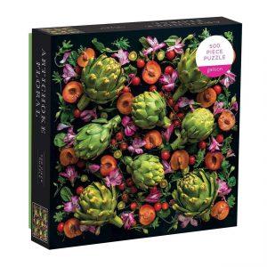 Artichoke Floral 500 Piece Jigsaw Puzzle - Galison