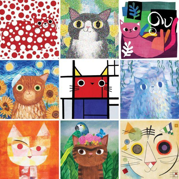 Artys Cats 500 Piece Jigsaw Puzzle - Mudpuppy
