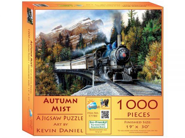 Autumn Mist 1000 Piece Jigsaw Puzzle - Sunsout