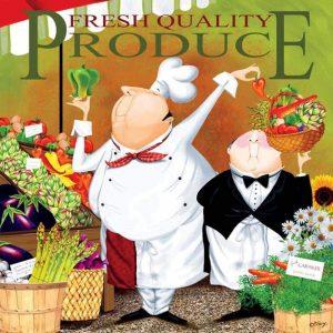 Bon Appetit - Fresh Quality Produce 300 Piece Jigsaw Puzzle - Ceaco