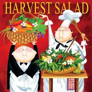 Bon Appetit - Harvest Salad 300 Piece Jigsaw Puzzle - Ceaco