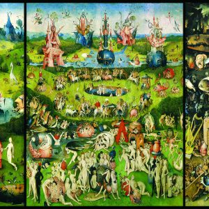 Bosch - The Garden of Earthly Delights 1000 Piece Jigsaw Puzzle - Eurographics