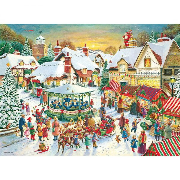 Christmas Collection no 1 - 2 x 500 Piece Jigsaw Puzzles - Ravensburger