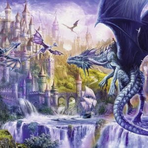 Dragon Castle 1000 Piece Jigsaw Puzzle - Ravensburger