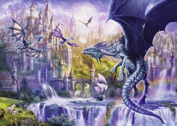 Dragon Castle 1000 Piece Jigsaw Puzzle - Ravensburger